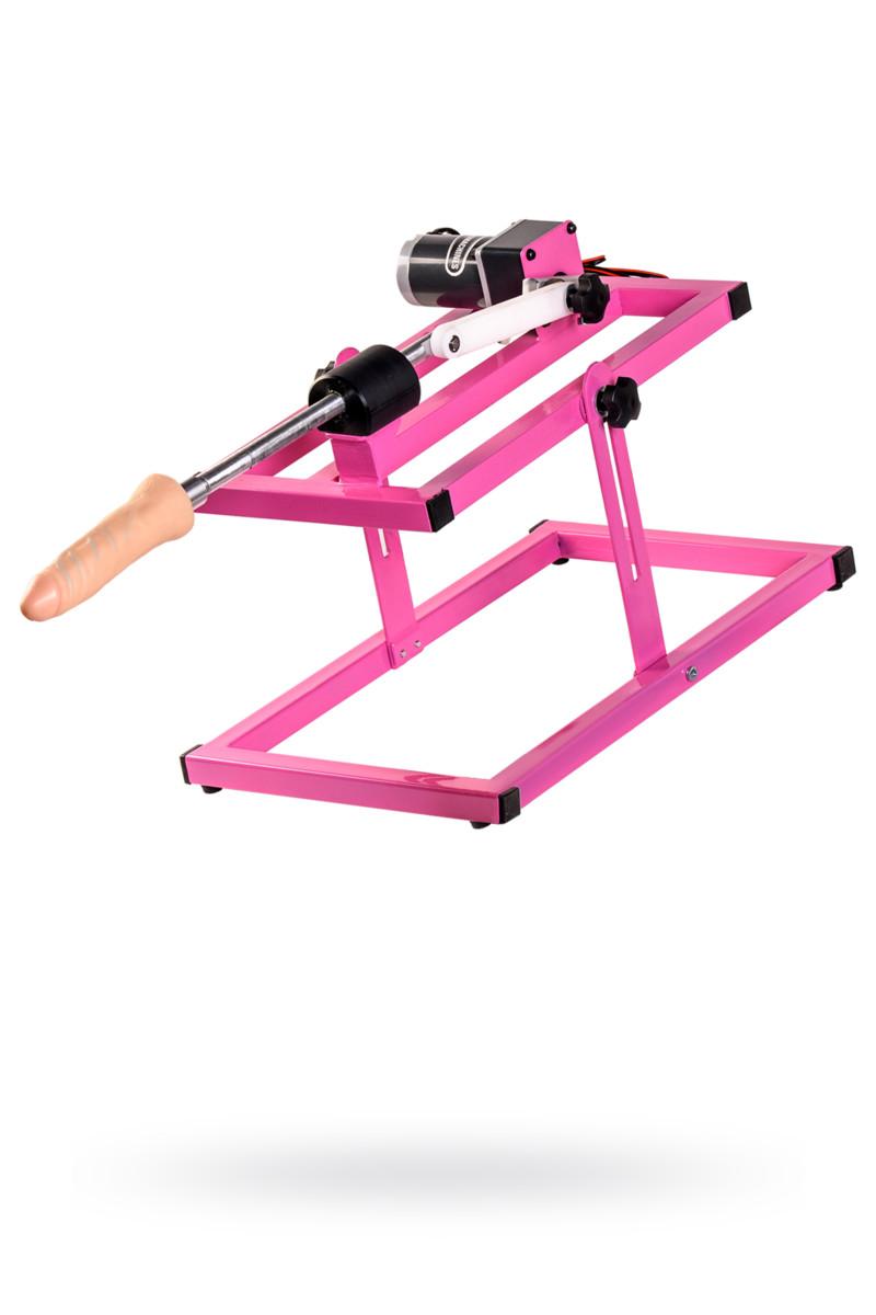 Секс-машина, LoveMachines, Казанова, металл, розовый, 51 см