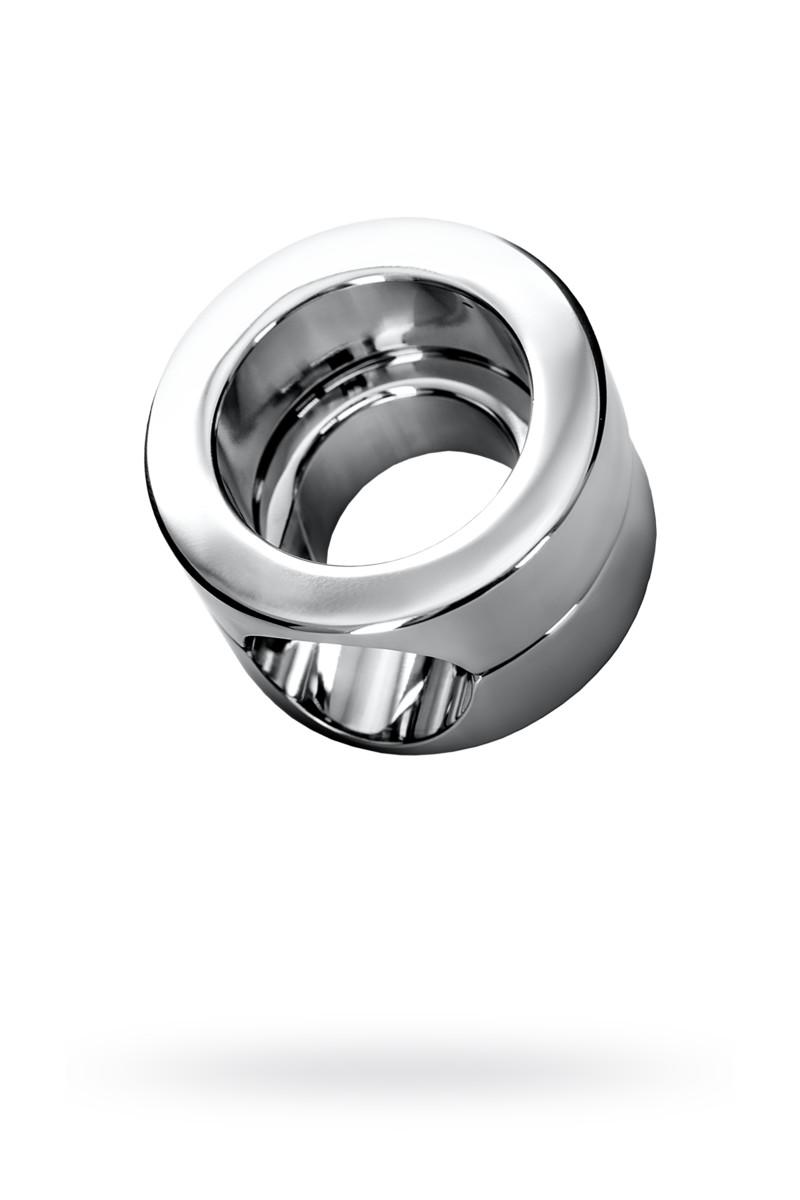 Утяжелитель на мошонку, TOYFA Metal, серебристый