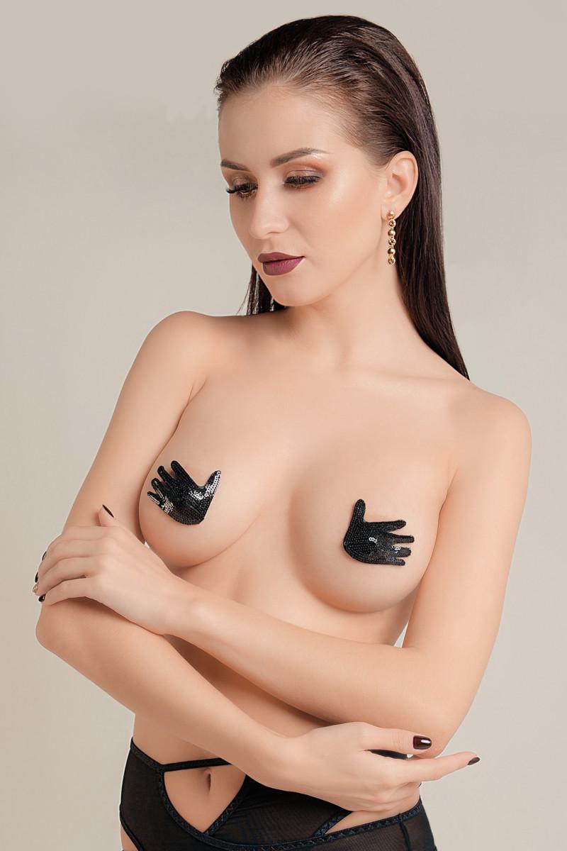 Пэстис Waname Apparel Hands в форме ручек, черный