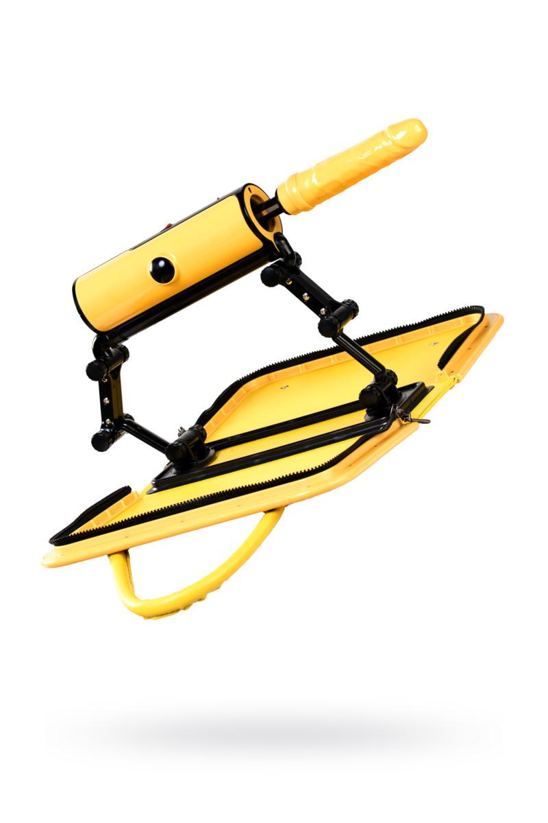Секс-машина F*ckBag, MotorLovers, ABS, желтый, 36 см