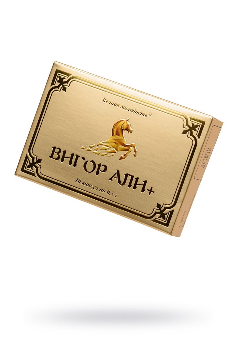 Капсулы для мужчин «ВИГОР АЛИ +», для усиления эрекции, 1 шт.