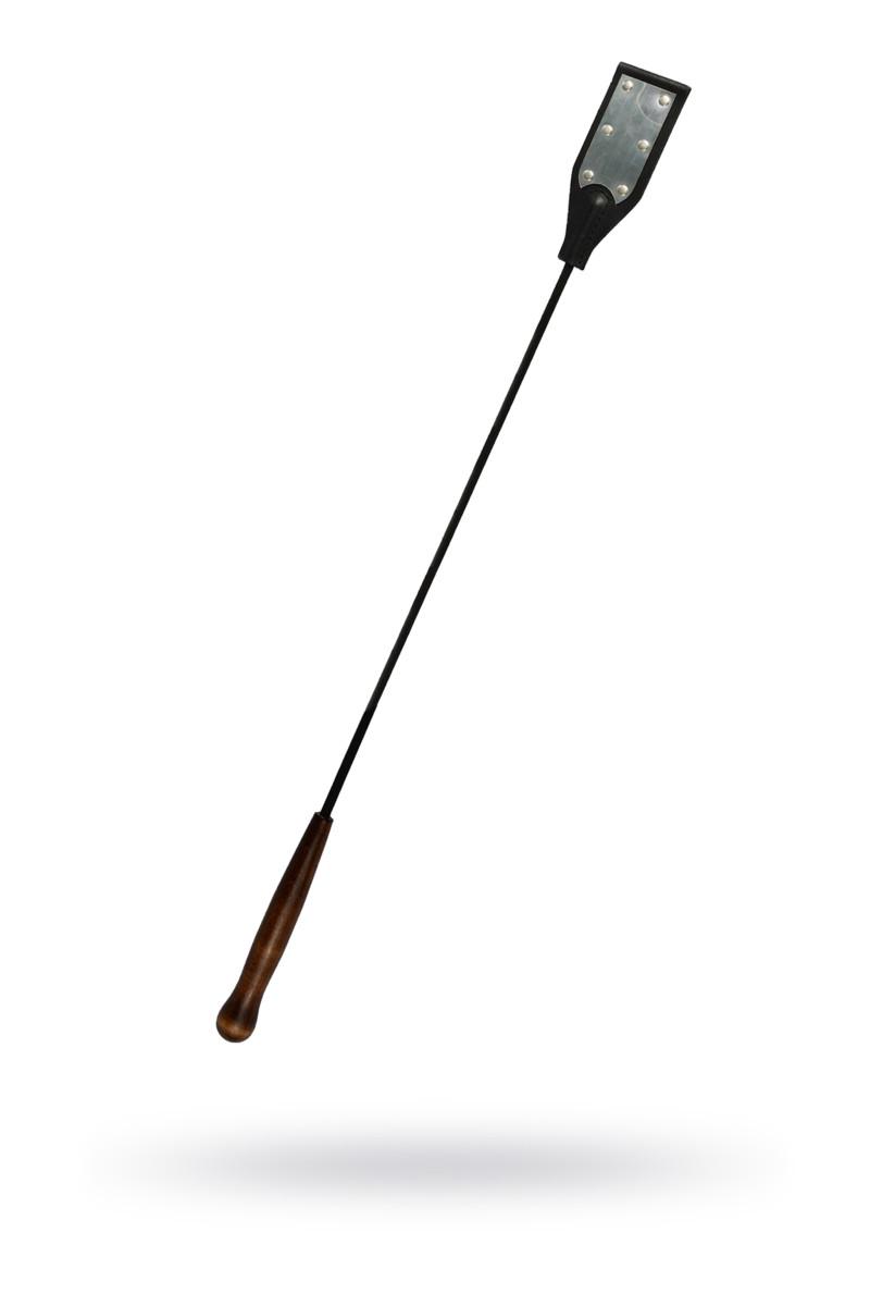 Стек Sitabella  чёрный кожа, отделка под металл