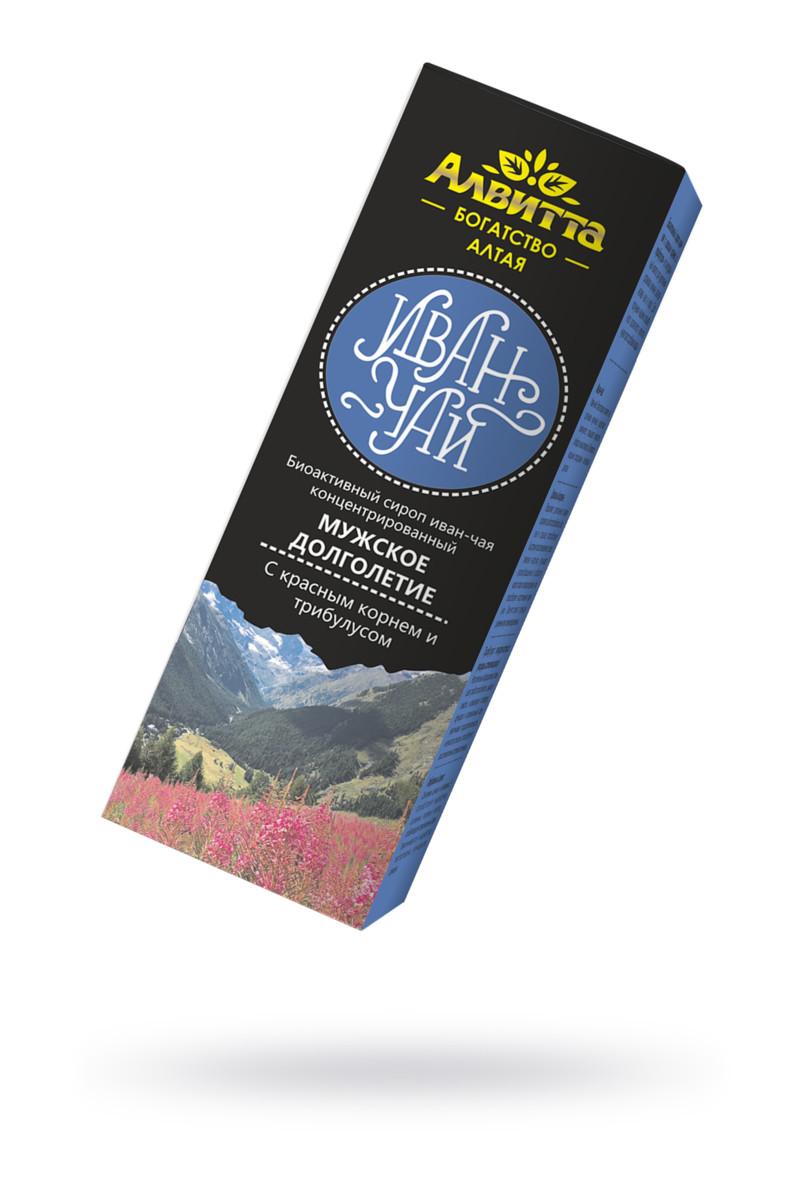 Сироп иван-чая с красным корнем и трибулусом ''Мужское долголетие'' 200 мл