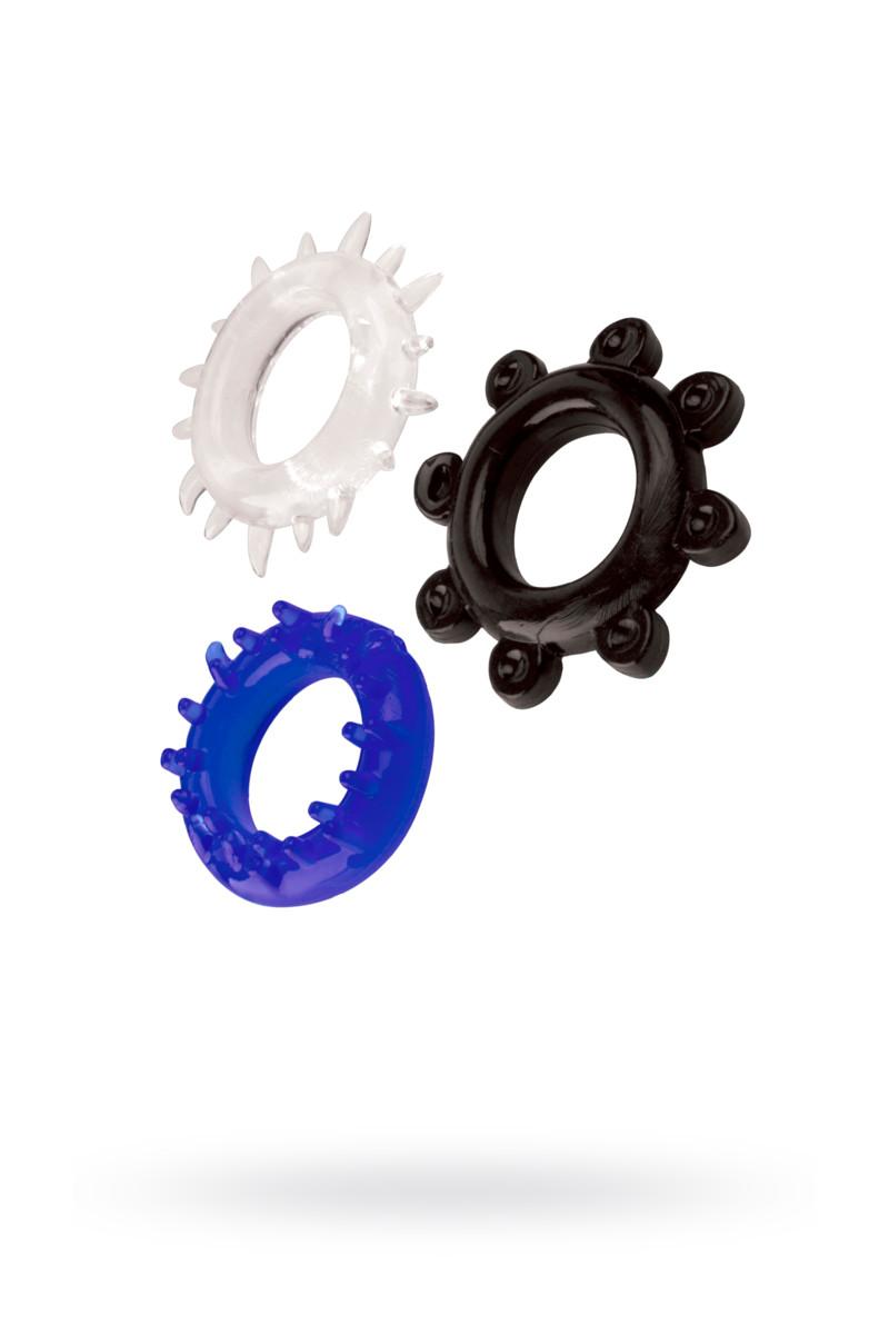 Набор колец TOYFA A-toys, TPE,  3 см
